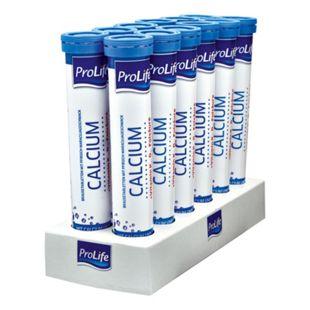 ProLife Calcium Brausetabletten 102 g, 12er Pack - Bild 1