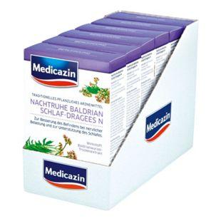 Medicazin Nachtruhe Baldrian Einschlaf-Dragees N 120 Stück, 6er Pack - Bild 1