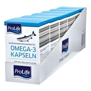 Pro Life Omega 3 Kapseln 120 Stück 85 g, 6er Pack - Bild 1