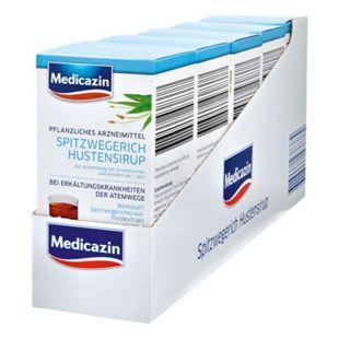 Medicazin Spitzwegerich Hustensirup 250 ml, 5er Pack - Bild 1