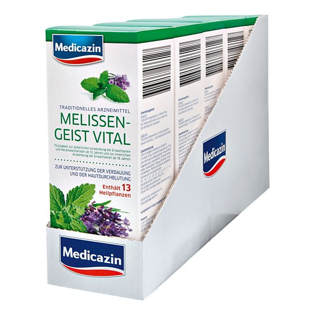 Melissengeist Vital Medicazin 500 ml, 5er Pack - Bild 1