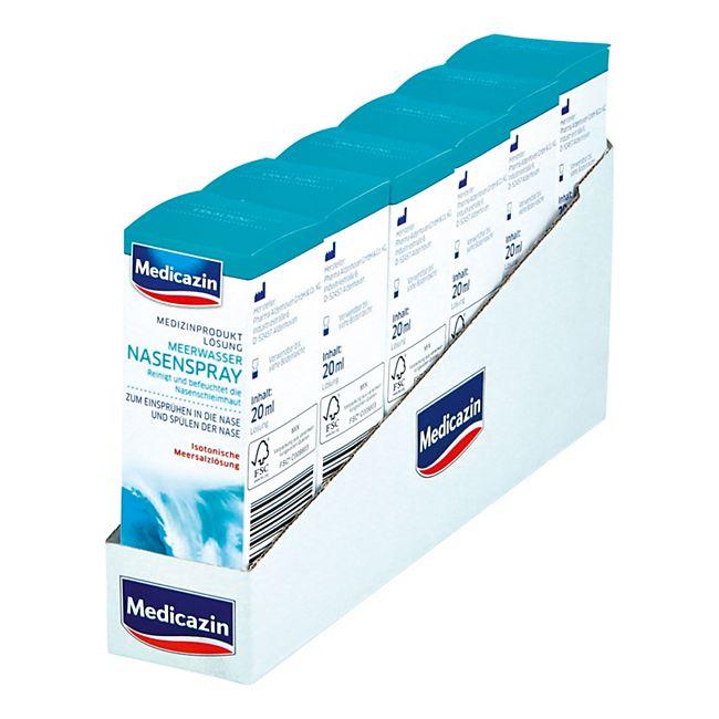 Medicazin Meerwasser Nasenspray 20 ml, 6er Pack - Bild 1