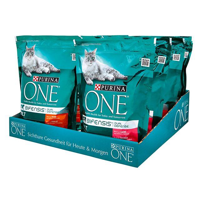 PURINA ONE Katzenfutter Bifensis 800 g, verschiedene Sorten, 8er Pack - Bild 1