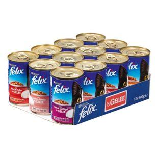 FELIX Katzenfutter Mix 400 g, 12er Pack - Bild 1