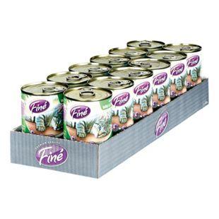 Finé Katzenfutter Feines Menü Wild & Truthahn 400 g, 12er Pack - Bild 1