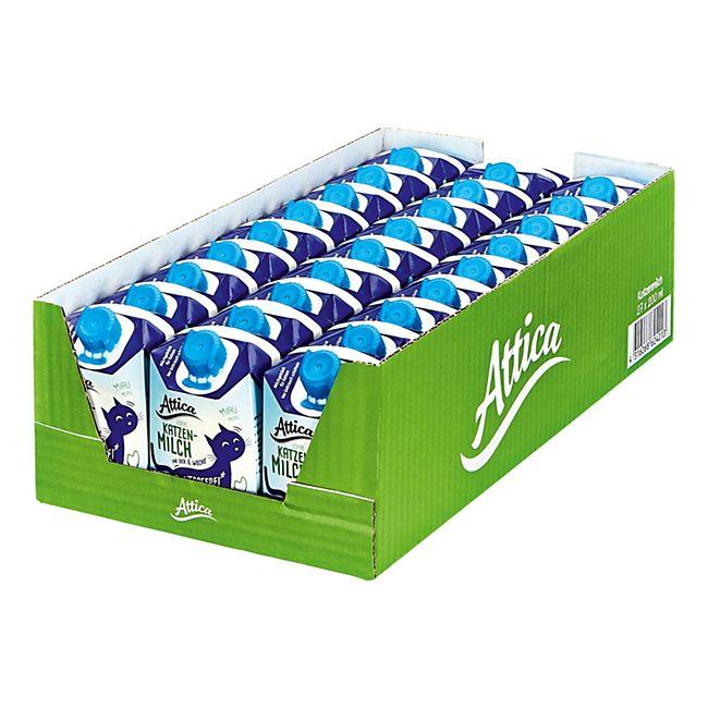 Attica Katzenfutter Katzenmilch 200 ml, 27er Pack - Bild 1