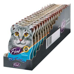 Fine Katzenfutter MSC Kabeljau 85 g, 18er Pack - Bild 1