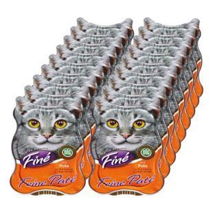 Finé Katzenfutter Pute 85 g, 18er Pack - Bild 1