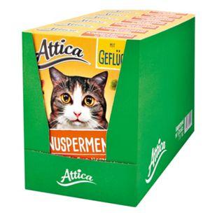 Attica Katzenfutter Knuspermenü Geflügel 1 kg, 7er Pack - Bild 1