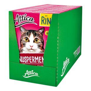 Attica Katzenfutter Knuspermenü Rind 1 kg, 7er Pack - Bild 1
