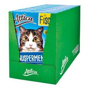 Bild für Attica Katzenfutter Knuspermenü Fisch 1 kg, 7er Pack