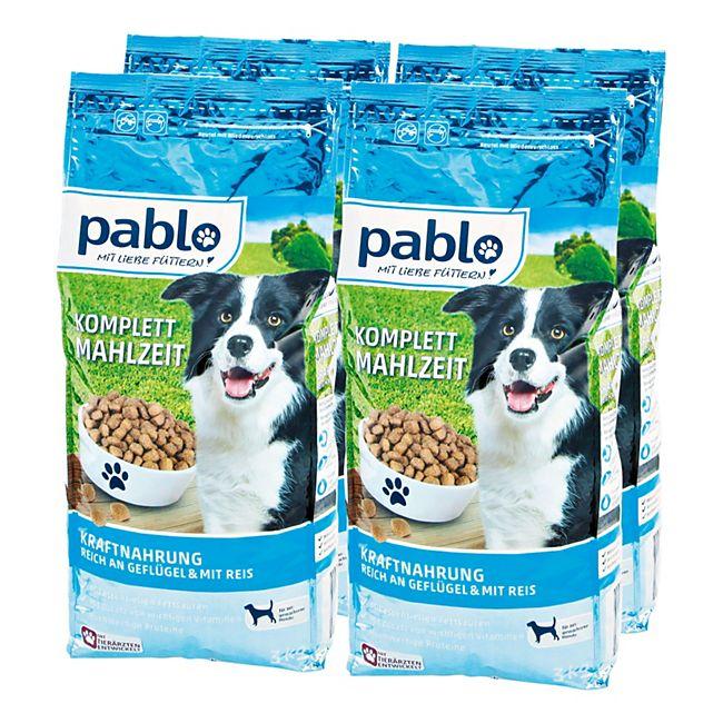 Pablo Hundefutter Kraftmenü 3 kg, 4er Pack - Bild 1