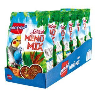 petti Fun Vogelfutter für Sittiche 500 g, 6er Pack - Bild 1