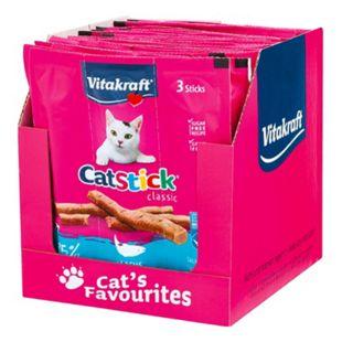 Vitakraft Katzenst. Mini Lachs MSC 18 g, 20er Pack - Bild 1