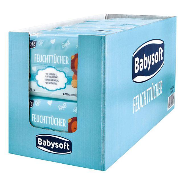 Babysoft Baby Feuchttücher Classic 160 Stück, 6er Pack - Bild 1