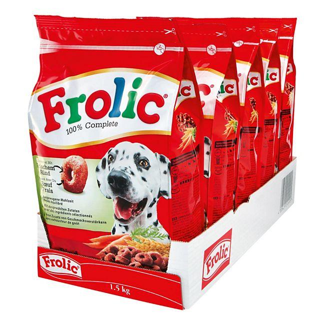 Frolic Hundefutter Rind 1,5 kg, 5er Pack - Bild 1