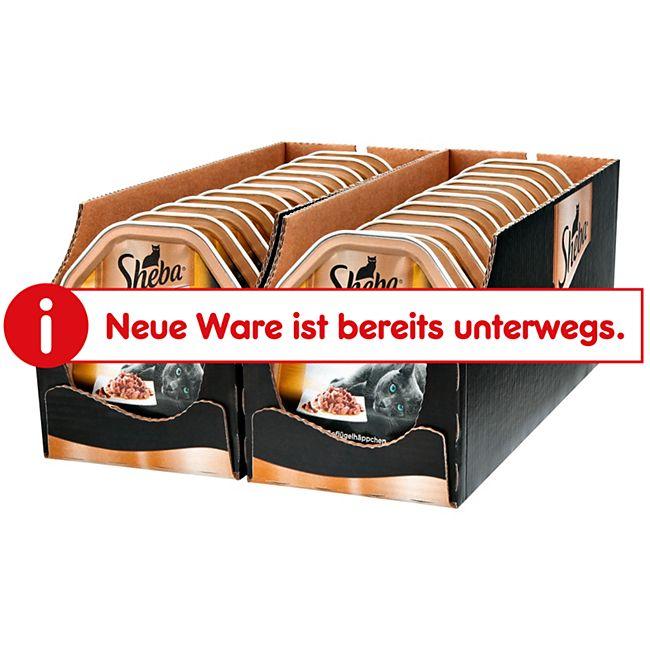 Sheba Selection in Sauce mit Geflügelhäppchen 85 g, 22er Pack - Bild 1