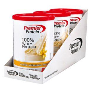 Premier Protein Milkshake Vanilla Whey 315 g, 3er Pack - Bild 1