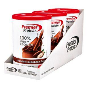 Premier Protein Milkshake Chocolate Whey 315 g, 3er Pack - Bild 1