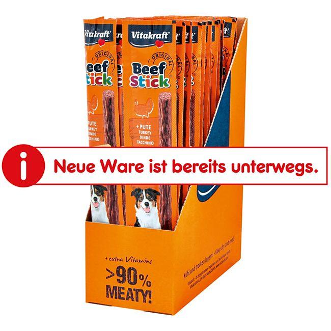 Vitakraft Hundefutter Beef Stick Pute 12 g, 50er Pack - Bild 1