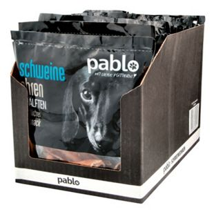 Pablo Hundefutter Schweineohren 2 Stück, 10er Pack - Bild 1