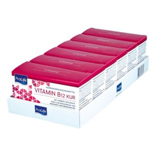 ProLife Ampullen B 12 Vitamin Kur 10 Ampullen / 70 ml, 6er Pack - Bild 1