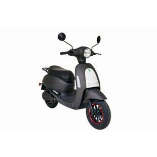 GREENSTREET E-Motorroller »SEED«, 45 km/h, 1200 W Bosch-Motor, Lithium-Ionen Akku (herausnehmbar), mattschwarz/weiß - Bild 1