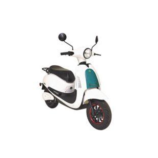 GREENSTREET E-Motorroller »SEED«, 45 km/h, 1200 W Bosch-Motor, Lithium-Ionen Akku (herausnehmbar), weiß/türkis - Bild 1