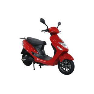 GREENSTREET Elektroroller »eCity«, 45 km/h, 1500 W Motor, rot - Bild 1