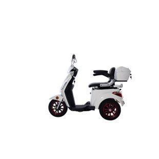GREENSTREET Elektromobil »E-Mover« inkl. Topcase, 800 W, 25 km/h, weiß - Bild 1