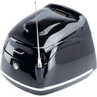 ALPHA MOTORS Topcase »Retro Firenze«, Zubehör, schwarz - Bild 1