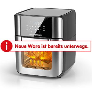 GOURMETmaxx Heißluft-Fritteuse Digital 12l 1800W - Bild 1