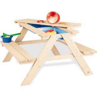 Pinolino Kindersitzgarnitur 'Matsch-Nicki für 4', natur - Bild 1