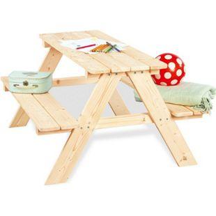 Pinolino Kindersitzgarnitur 'Nicki für 4', natur - Bild 1
