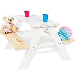 Pinolino Kindersitzgarnitur 'Nicki für 4', weiß - Bild 1