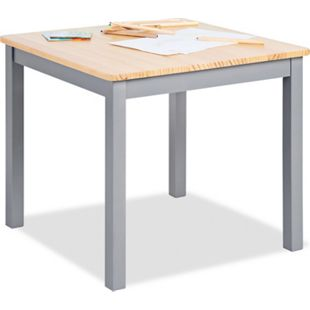 Pinolino Kindertisch 'Fenna', grau/natur - Bild 1