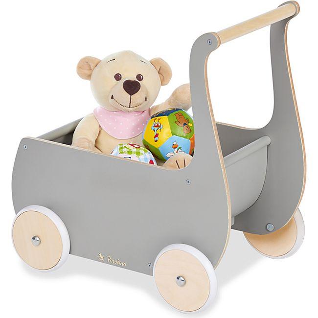 Pinolino Puppenwagen 'Mette', grau - Bild 1