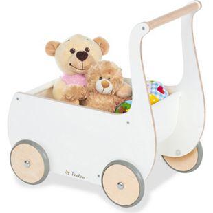 Pinolino Puppenwagen 'Mette', weiß - Bild 1