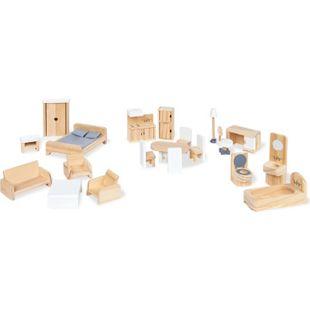 Pinolino Puppenhausmöbel-Set, 20-tlg. - Bild 1