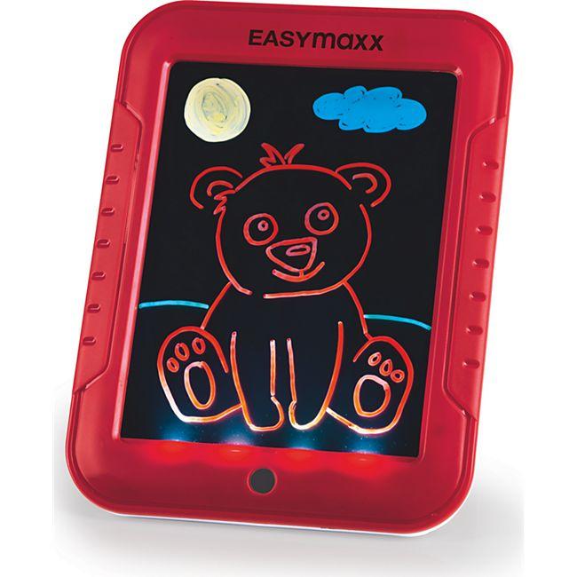 EASYmaxx Malpad Magic Glow 20-tlg. 4,5V rot - Bild 1