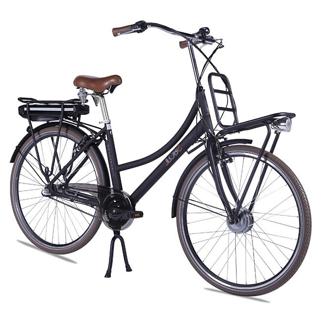 Llobe Alu Elektro City Bike Rosendaal 2 28 Zoll Lady schwarz 36V/10,4Ah - Bild 1