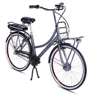 Llobe Alu Elektro City Bike Rosendaal 2 28 Zoll Lady grau 36V/10,4Ah - Bild 1