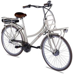 Llobe Alu Elektro City Bike Rosendaal 2 28 Zoll Lady beige 36V/10,4Ah - Bild 1