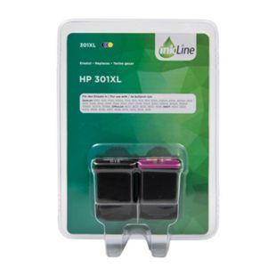 Multipack Druckerpatronen - InkLine HP 301XL, 2er Pack - Bild 1