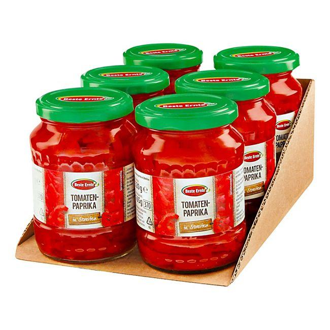 Beste Ernte Tomatenpaprika in Streifen 165 g, 6er Pack - Bild 1