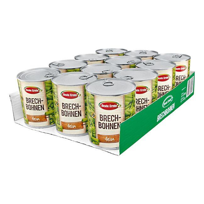 Beste Ernte Brechbohnen 455 g, 12er Pack - Bild 1