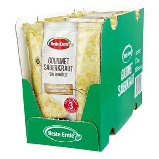 Beste Ernte Gourmet-Sauerkraut 400 g, 8er Pack - Bild 1