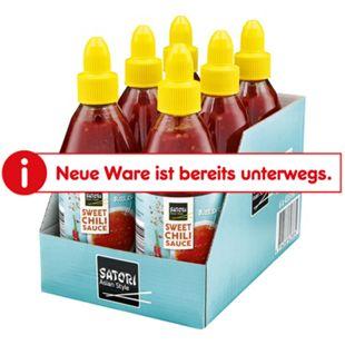Satori Sweet Chili Sauce 435 ml, 6er Pack - Bild 1