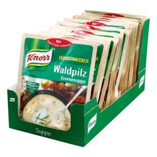 Knorr Feinschmecker Waldpilzsuppe ergibt 0,5 Liter, 16er Pack - Bild 1