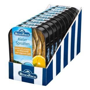 Bild für Rügenfisch Kieler Sprotten 110 g, 10er Pack